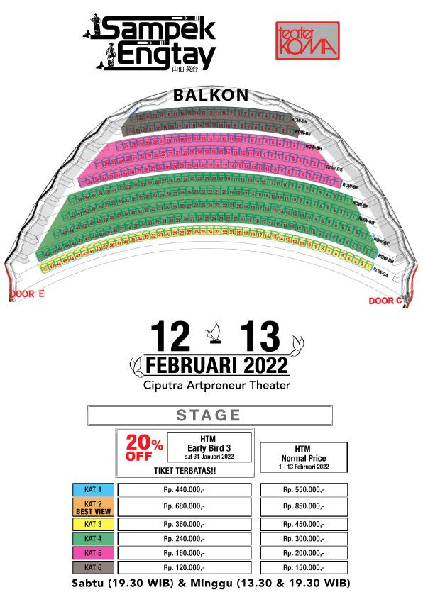 Seat Plan B